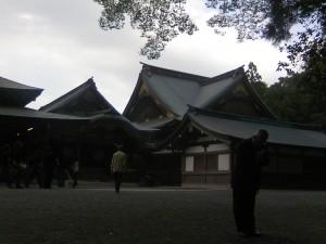 内宮神楽殿・「御饌の儀」が行なわれる場所