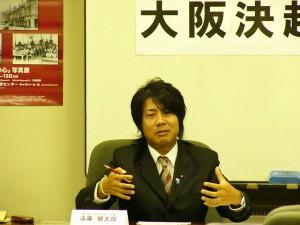遠藤健太郎 代表